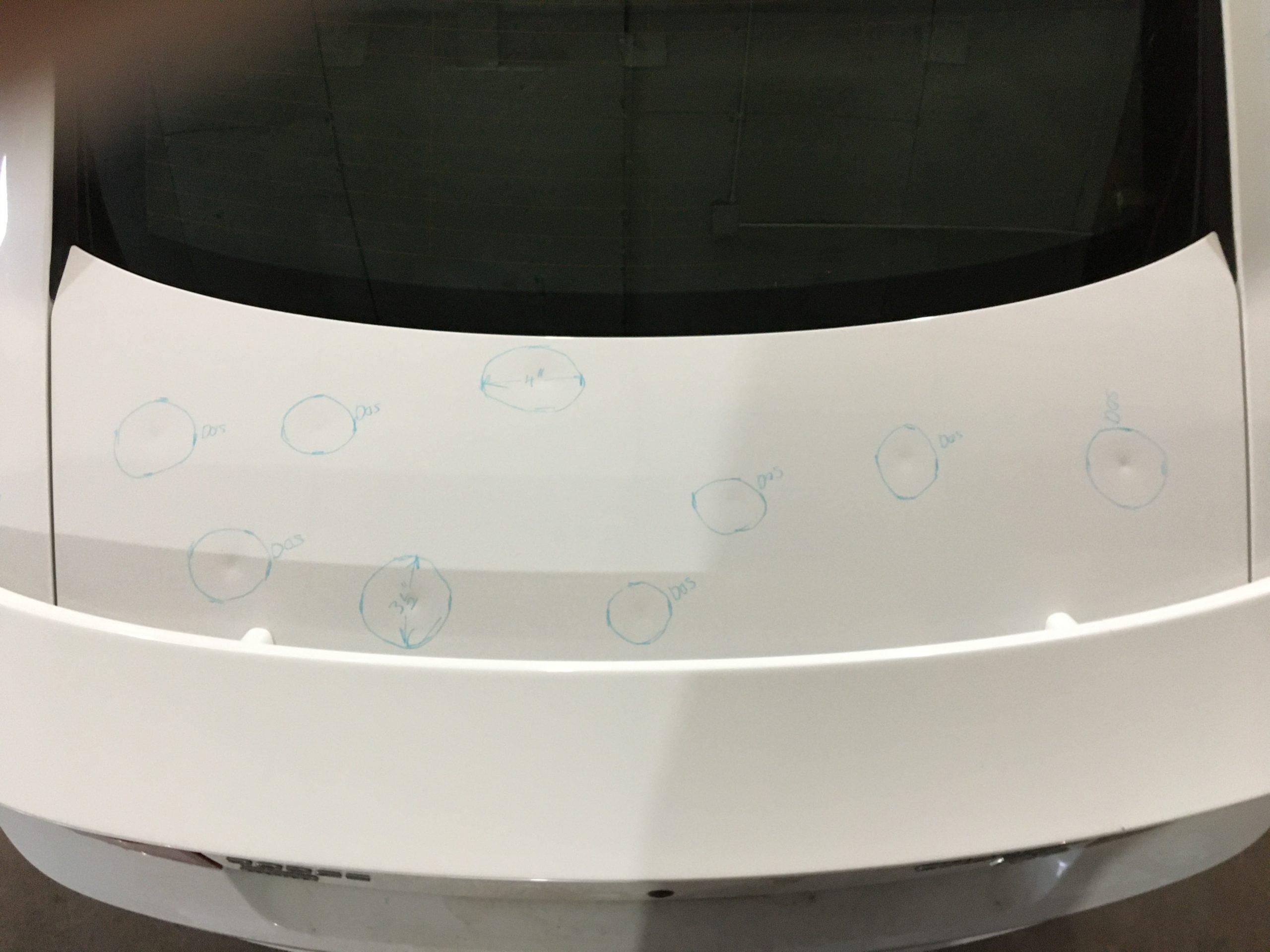2010 Dodge Charger Hail Damage 1 scaled