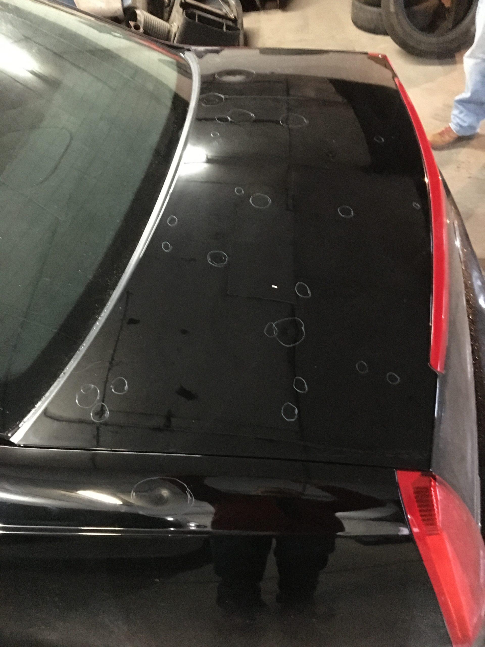 2011 Cadillac Hail damage repair scaled